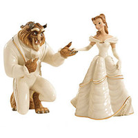 Lenox Collectible Disney Figurine, Beauty and the Beast My Heart is Yours - Collectible Figurines - for the home - Macy's Bridal and Wedding Registry