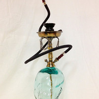 Top Shelf Hookah Custom Retro Glass Head Hookah by TopShelfHookah