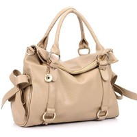 LOVELY Pure and fresh and lovely bowknot bag