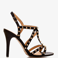 Leather-Lined Spike Gladiator Heels | FOREVER 21 - 2048802961