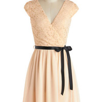 Champagne at Midnight Dress in Moonlight | Mod Retro Vintage Dresses | ModCloth.com
