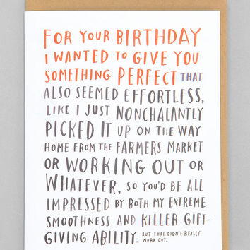Emily McDowell For Your Birthday Card