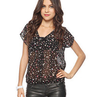 Blouson Floral Button Up | FOREVER21 - 2011409978