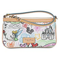 Disney Sketch Wristlet by Dooney & Bourke | Disney Store