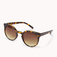 F4021 Tortoise Cat-Eye Sunglasses | FOREVER 21 - 1061920674