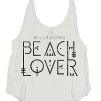 Billabong The Wave It Is Tank Top - White - J4242THE				 |  			Billabong 					US