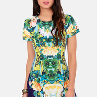 Ebb and Flow-er Floral Print Dress
