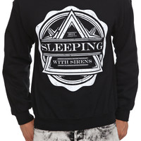 Sleeping With Sirens Crest Pullover Sweatshirt | Hot Topic