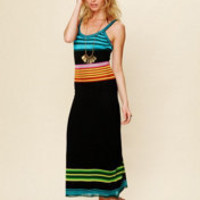 Mara Hoffman Color Block Stripe Knit at Free People Clothing Boutique