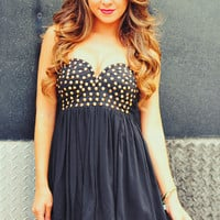 Rock Star Dress: Black | Hope's