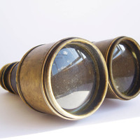 Binoculars from the beginning of century by DAPHNISNERII on Etsy