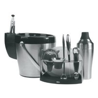 OXO SteeL 11-Piece Barware Set