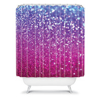 DENY Designs Home Accessories | Lisa Argyropoulos New Galaxy Shower Curtain