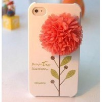 "iPhone Flower ""Design Tree"" Hard Case"