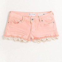 Bullhead Denim Co Crochet Hem Shorts at PacSun.com