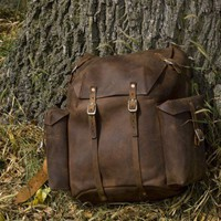 Handmade Leather Backpack | hmcurriers - Bags & Purses on ArtFire