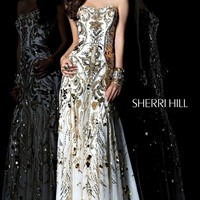 Sherri Hill 21077 Dress - MissesDressy.com