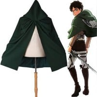 Amazon.com: Waltzmart Shingeki No Kyojin (Attack on Titan) Cloak Cosplay Costume: Clothing