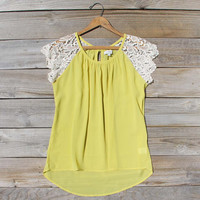 Sunset Canyon Blouse, Sweet Lace Bohemian Tops & Blouses