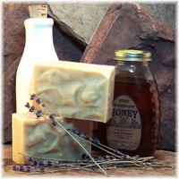 Lavender Oatmeal Honey Goatmilk Fine Handmade Soap | Soapsmith - Bath & Beauty on ArtFire