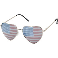 Luvs Eye Heart USA Sunglasses at Zumiez : PDP