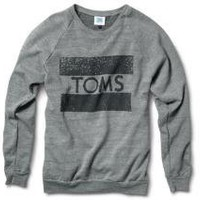Women - More TOMS Stuff - Classics TOMS Crew Neck Sweatshirt