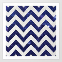 ChEVRON Art Print by M✿nika  Strigel