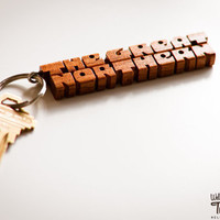 Twin Peaks' The Great Northern Hotel Keychain