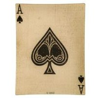 ACE OF SPADES TRAY | tabletop | accessories | Jayson Home  Garden