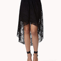 High-Low Lace Skirt | FOREVER 21 - 2049125895