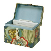 Picadilly Recipe File Box