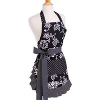 Women&#x27;s Apron in Sassy Black
