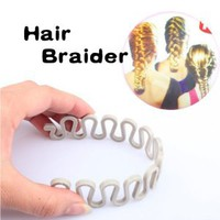 Amazon.com: Vktech Hair Braider Twist Styling Braid Tool Magic Wonder Holder Clip DIY French: Beauty