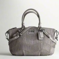 Coach :: MADISON GATHERED LEATHER SOPHIA SATCHEL