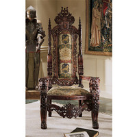 The Lord Raffles Lion Throne - AF1038                       - Design Toscano