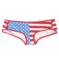 Flag Boyshort  | Shop Intimates at Wet Seal