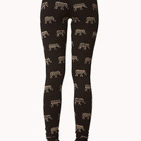 Tribal Elephant Leggings | FOREVER 21 - 2061306471