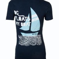 Adam Block Design   Delta Gamma Floats My Boat Tee