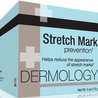 Dermology Stretch Mark Prevention Cream - Stop Stretch Marks From Forming and Remove Stretch Marks Lotion ~ 1 Packs