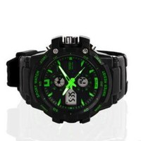 Men's Waterproof Outdoor Sports Watch & Led Summer Swimming Diving Male Watch Fashion Sports Watch:Amazon:Sports & Outdoors