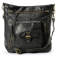 T-Shirt & Jeans Large Black Crossbody Purse at Zumiez : PDP
