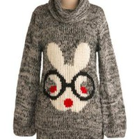 Let Your Hare Down Sweater | Mod Retro Vintage Sweaters | ModCloth.com