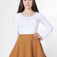 American Apparel - Corduroy Circle Skirt