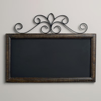 Chalkboard Wall Plaque - World Market