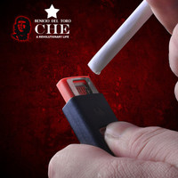 No Fire Windproof USB Lighter-Guevara Commemorative Edition