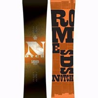 Rome Notch Snowboard | Rome Snowboard Design Syndicate 2011