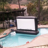 7' Aquascreen - Floatable Inflatable Movie Screen (.5mm Pvc):Amazon:Toys & Games