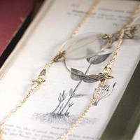 Digby &amp; Iona: Two Sparrow Necklace