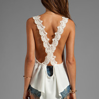 STONE_COLD_FOX Coppola Tank in White from REVOLVEclothing.com
