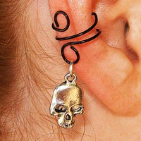 Death's Touch Ear Cuff